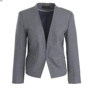 J. Crew Jackets & Coats - NWT j.crew cropped blazer in pinstripe